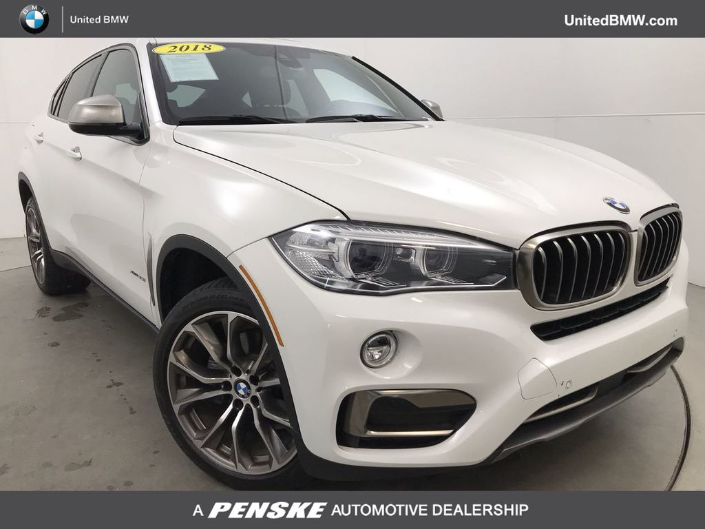 Certified Pre-Owned 2018 BMW X6 xDrive35i Sports Activity