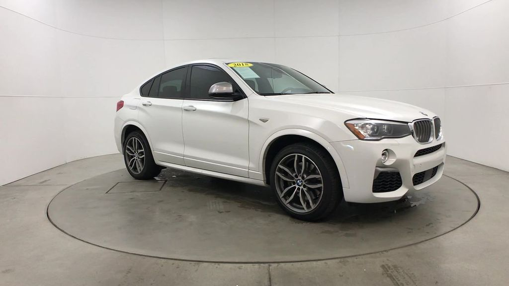 Certified Pre-Owned 2018 BMW X4 M40i Sports Activity