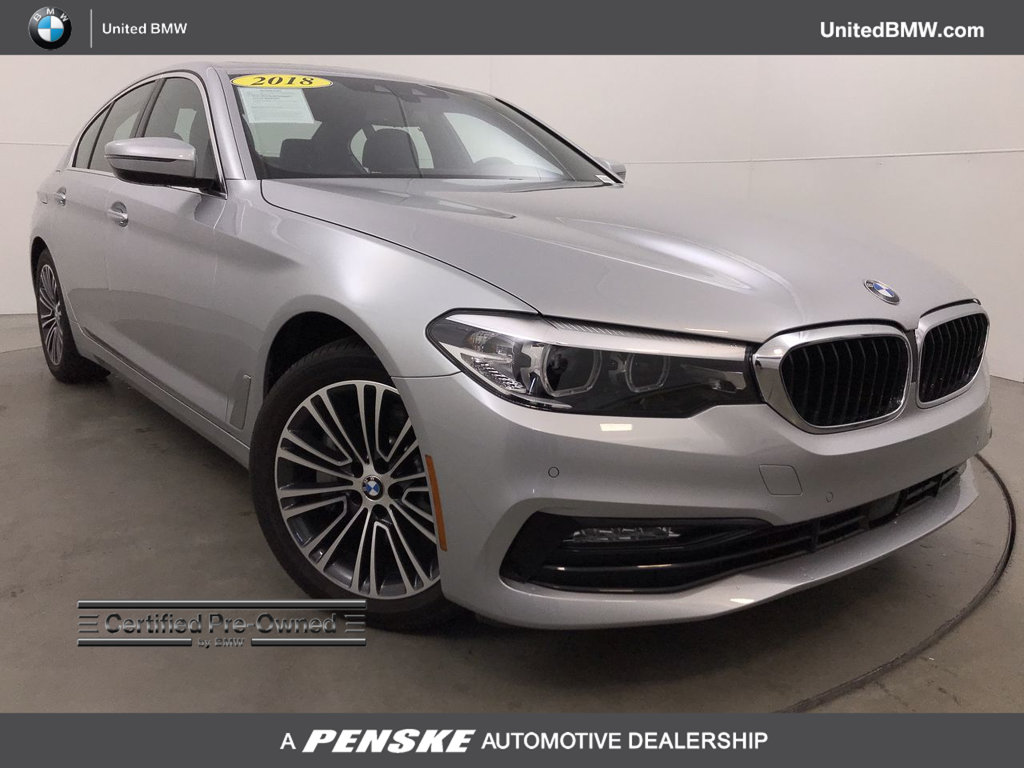 Certified Pre-Owned 2018 BMW 5 Series 530i