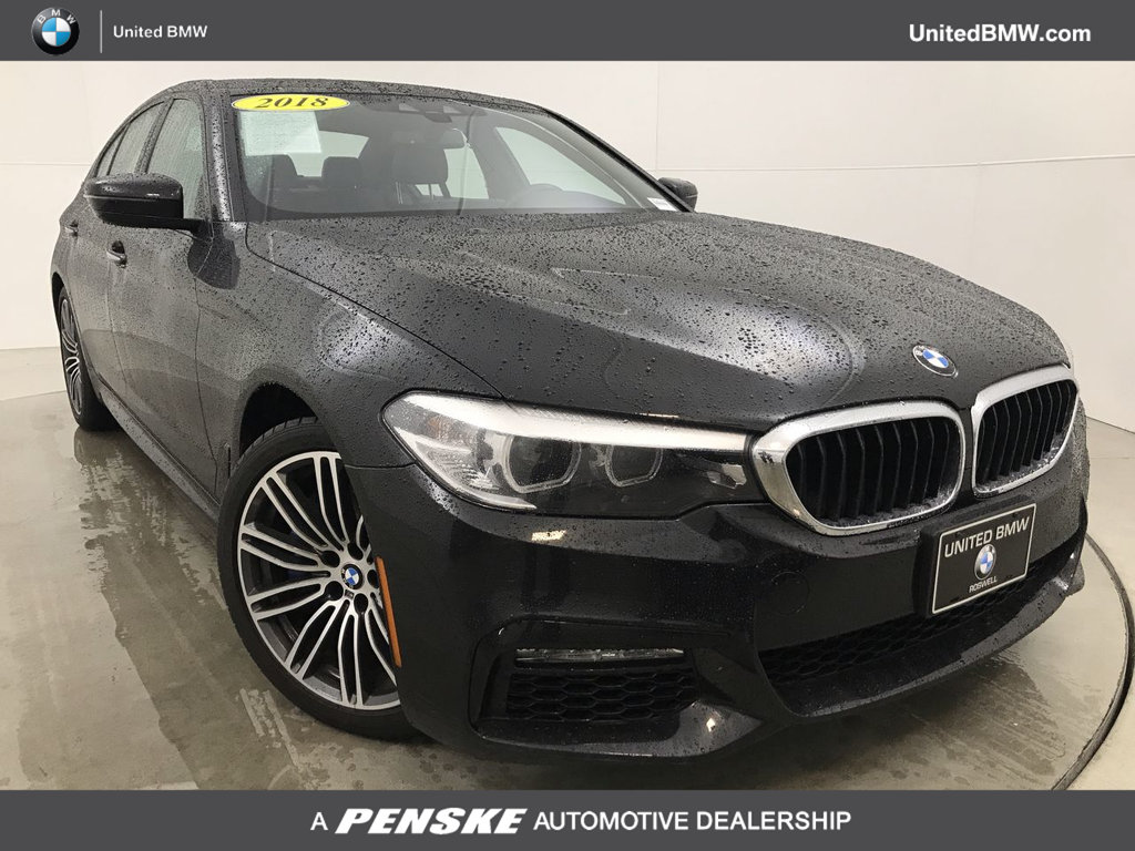 Pre-Owned 2018 BMW 5 Series 530e iPerformance Plug-In Hybrid