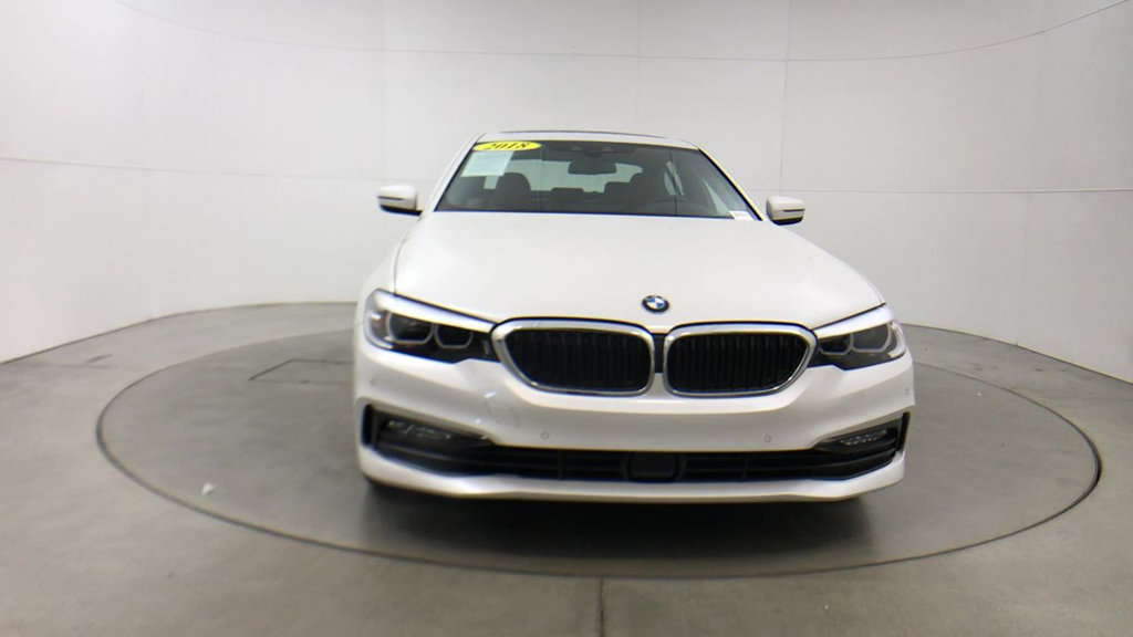 Certified Pre-Owned 2018 BMW 5 Series 540i
