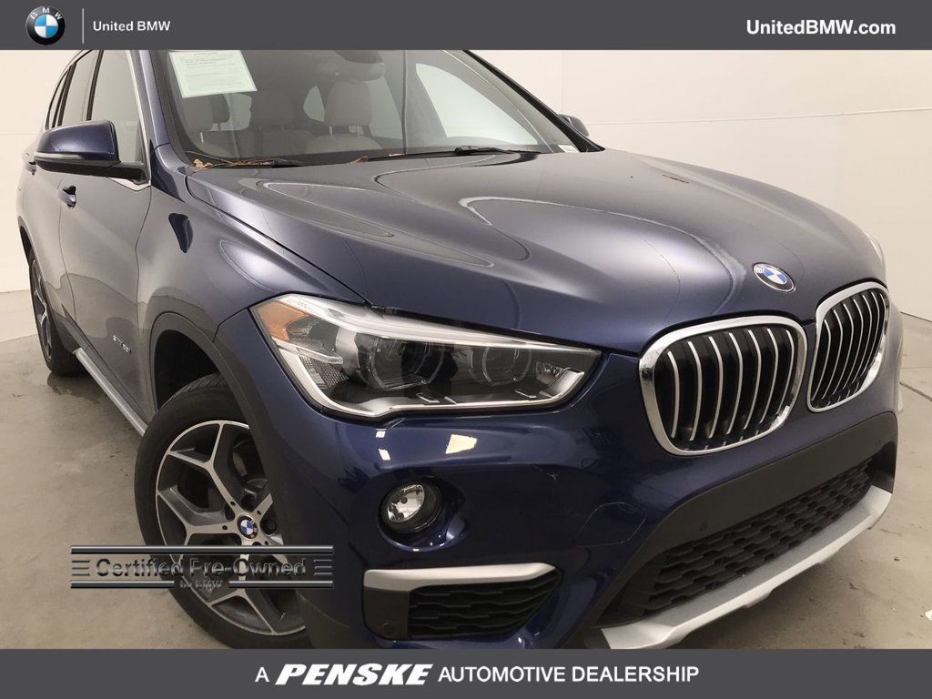Certified Pre Owned 2017 Bmw X1 Sdrive28i