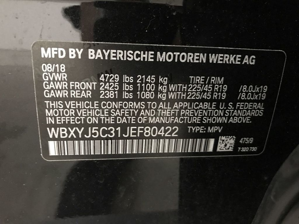 Certified Pre-Owned 2018 BMW X2 xDrive28i Sports Activity Vehicle